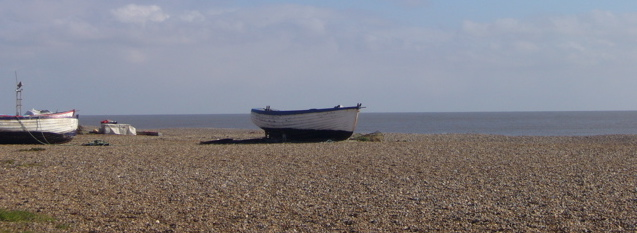 Beach at Aldeburgh
